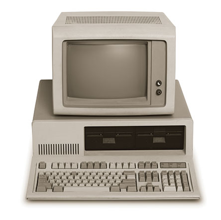 Captain Kirk and the Cloud Paradigm - oldschool PC