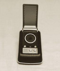 Captain Kirk and the Cloud Paradigm - handheld communicator
