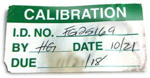 Illegible handwritten label