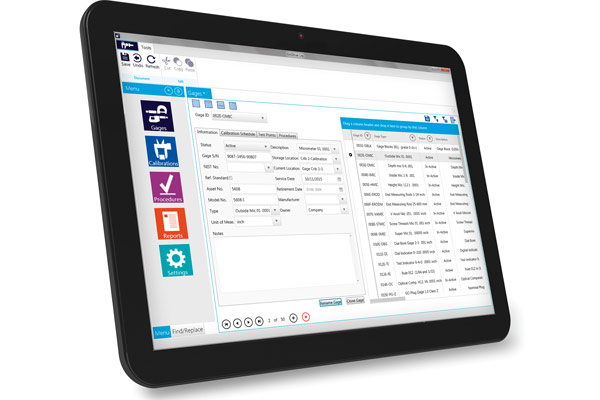 GAGEtrak Lite - Simplified Calibration Management Software