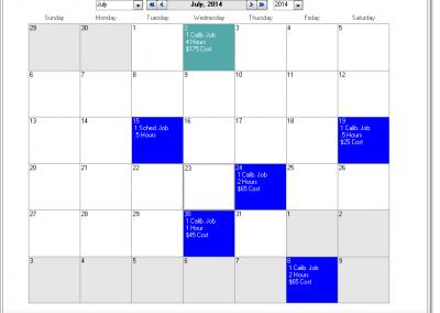 GAGEtrak Calendar